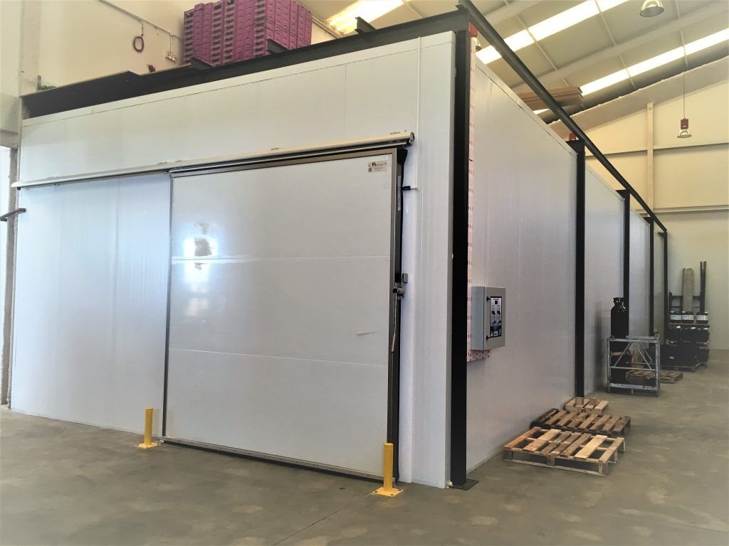 Suministro y colocación de una nueva instalación frigorífica para Nature & Sens S.L. 1-1024x768
