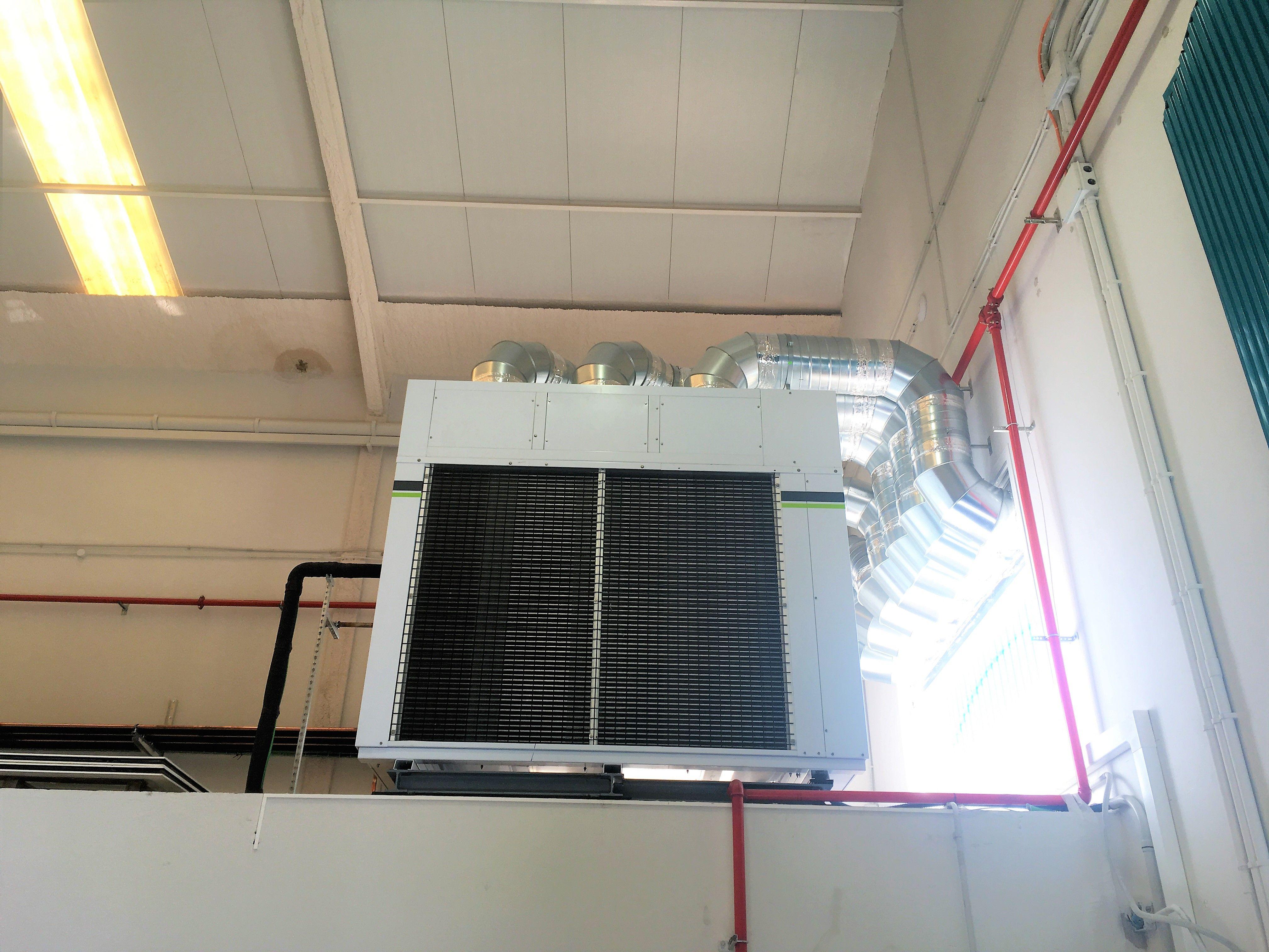 Suministro y colocación de una nueva instalación frigorífica para Nature & Sens S.L. 2