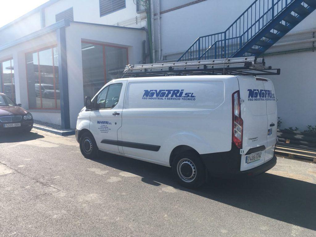 Instaladores de Camaras frigorificas en Las Palmas Furgoneta-Novofri-3-1024x768