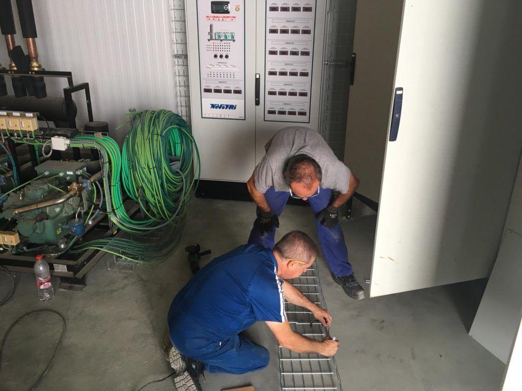 Instaladores de Camaras frigorificas en Cantabria personal-Novofri-2-1-1024x768