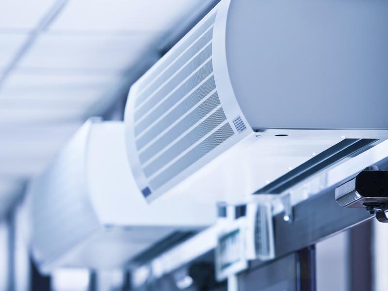 Mantenimiento de la climatización en grandes superficies.